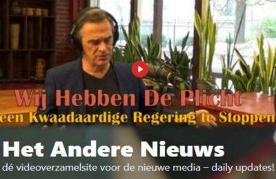 Wij hebben de plicht een kwaadaardige regering te stoppen – Pieter Stuurman