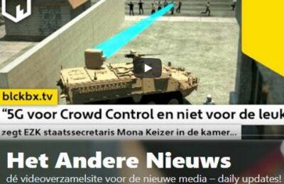 """""""5G voor Crowd Control en niet voor de leuk"""", zegt EZK staatssecretaris Mona Keizer in de kamer…"""