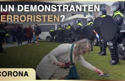 Zijn demonstranten terroristen? Ad Nuis