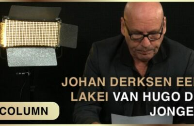 Column Ad Nuis – Johan Derksen lakei van vaccin-minister De Jonge?