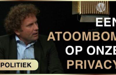 Testwet: einde van onze privacy en vrijheid – Karel Beckman met Bas Filippini