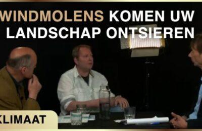 Windmolens komen uw landschap ontsieren – Karel Beckman met Willem Joustra en Cyril Wentzel