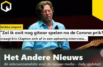 """""""Zal ik ooit nog gitaar spelen na de Corona prik?"""" vraagt Eric Clapton zich af in een openhartig interview…(volledige versie – Nederlands ondertiteld)"""