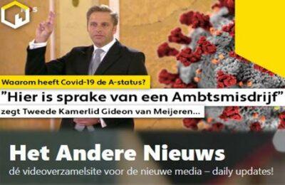 """""""Hier is sprake van een Ambtsmisdrijf"""" zegt Tweede Kamerlid Gideon van Meijeren…"""
