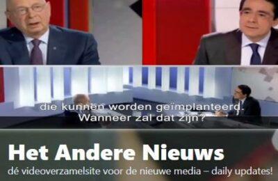 Klaus Schwab in 2016 – chippen eerst in kleding, dan onder de huid, en dan in je hersenen – Nederlands ondertiteld