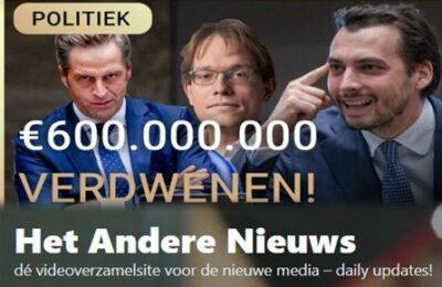 €600.000.00 verdwenen! – Erik van der Horst met Pepijn van Houwelingen en Thierry Baudet