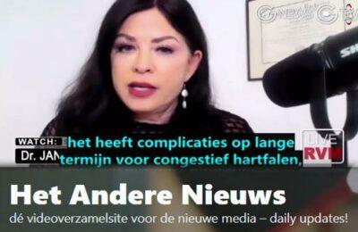 Dr. Jane Ruby: COVID-injecties leiden tot hart complicaties – Nederlands ondertiteld