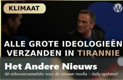 Alle grote ideologieën verzanden in tirannie