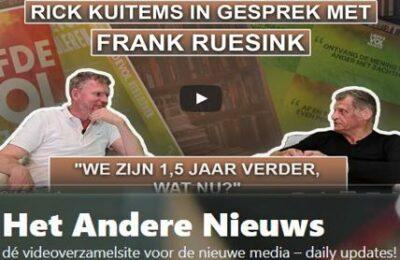 Rick Kuitems in gesprek met Frank Ruesink – We zijn 1,5 jaar verder, wat nu?