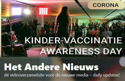 Kinder-vaccinatie Awareness Day