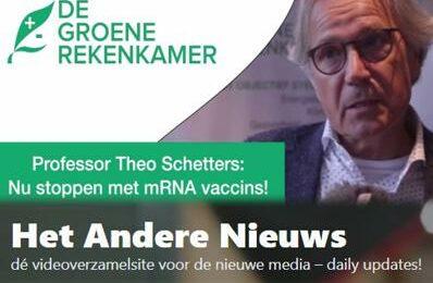 Prof Theo Schetters: Nu stoppen met mRNA vaccins!