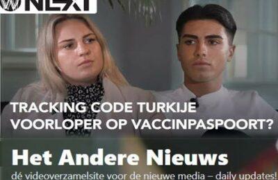 Weltschmerz Next – Tracking-code Turkije voorloper Vaccinpaspoort? – Laura Hos & Duncan Robles