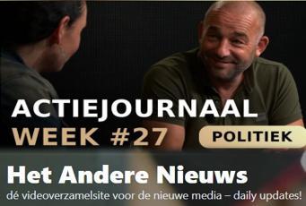 Actiejournaal week # 27 – Martina Groenveld met Michel Reijinga