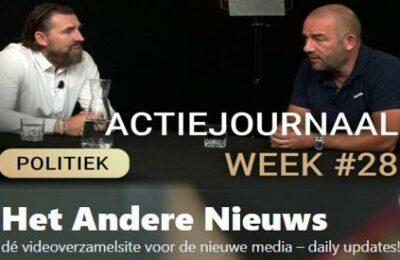 Actiejournaal week 28 – Daan van den Berg met Michel Reijinga