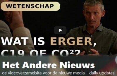 Wat is erger, C19 of CO2? – Willem Engel met Marcel Crok