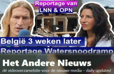 Reportage Watersnoodramp, België 3 weken later OPN en LNN