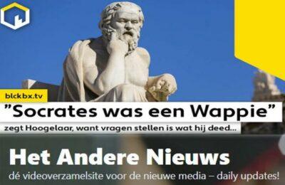 """""""Socrates was een Wappie"""", zegt Hoogleraar want vragen stellen is wat hij deed…"""