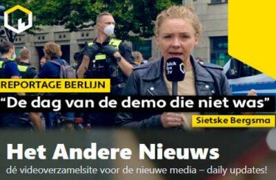 """Reportage Berlijn: """"De dag van de demo die niet was"""", door Sietske Bergsma."""