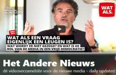 Stefan Noordhoek: WAT ALS…. een vraag eigenlijk een leugen is?