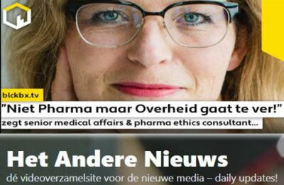 """""""Niet Pharma maar Overheid gaat te ver!"""" zegt senior medical affairs & pharma ethics consultant Dr. Wendy Mittemeijer Ooteman…"""