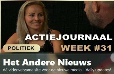 Actiejournaal week # 31 – Sanne van Beek met Michel Reijinga