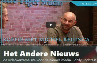 De beroemdste koffiedrinker van Nederland, Michel Reijinga, organiseert grootste demo tot nu toe