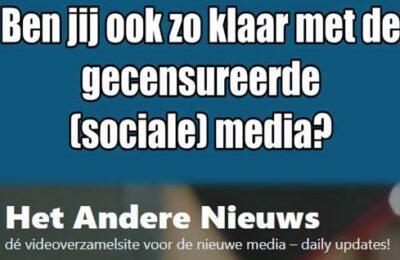 Ben jij ook zo klaar met de gecensureerde (sociale) media?
