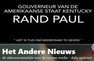 """""""Het is tijd om weerstand te geven"""" Senator van Kentucky Rand Paul – Nederlands ondertiteld"""