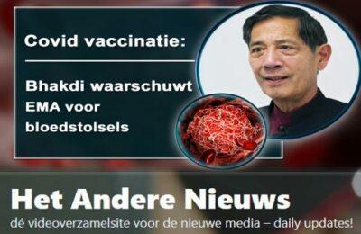 Covid vaccinatie: Bhakdi waarschuwt EMA voor bloedstolsels