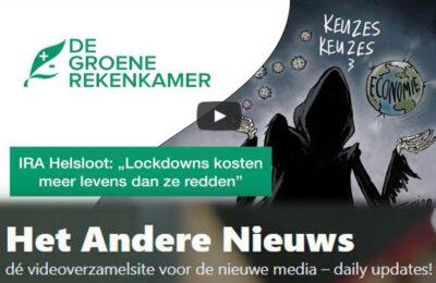 De Groene Rekenkamer: Webinar Ira Helsloot: Lockdowns kosten meer doden