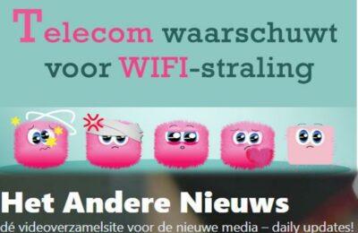 Telecom waarschuwt voor WIFI-straling