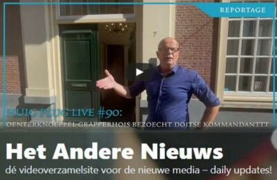 Huig plug LIVE # 90: Oenterknoeppel Grapperhois Bezoecht Doitse kommandantttt Onno Eichelsheim, jaaa!