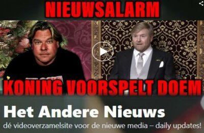 Jensen: Nieuwsalarm, koning voorspelt doem