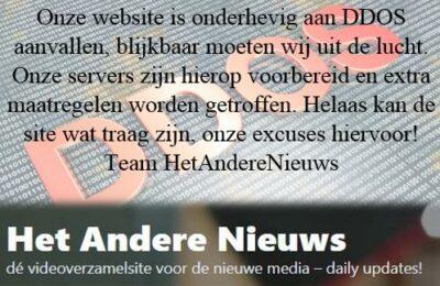 Het Andere Nieuws onder DDOS aanval!