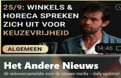 25/9: Winkels en horeca spreken zich uit voor keuzevrijheid – Erik van der Horst en Olaf Weller