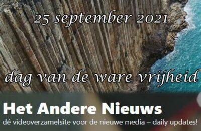 25 september 2021 – Dag van de ware vrijheid