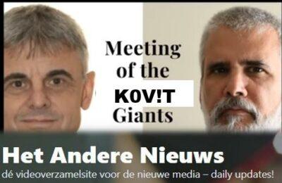 Meeting of the K0V!T Giants with Geert Vanden Bossche and Robert Malone MD – Nederlands ondertiteld