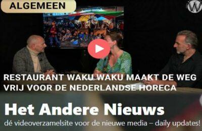 Restaurant Waku Waku maakt de weg vrij voor de Nederlandse horeca – Max, Anna en Mordechaï