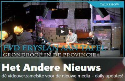 FVD Fryslân aan tafel: Grondroof in de provincie