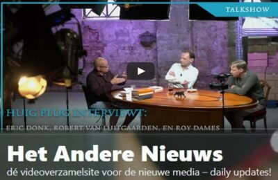Robert van de Luitgaarden, Erik Donk (JDTV) en Huig Plug over het Haagse pedonetwerk