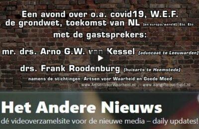 Arno van Kessel en Frank Roodenburg over wat er momenteel allemaal speelt in de wereld.