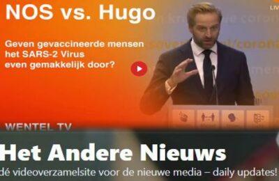 NOS vs. Hugo: Geven gevaccineerde mensen het SARS2-Virus even gemakkelijk door?