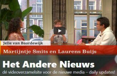 """""""Links gaat COVID dilemma's uit de weg."""" Een gesprek met Martijntje Smits en Laurens Buijs"""