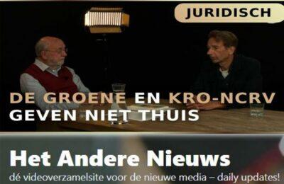 De Groene Amsterdammer en KRO-NCRV geven niet thuis – Karel Beckman en Cees Hamelink