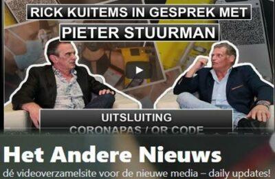 Rick Kuitems in gesprek met Pieter Stuurman – Uitsluiting en Coronapas – QR Code