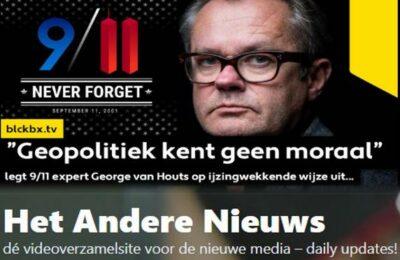 """Geopolitiek kent geen moraal"" legt 9/11 expert George van Houts op ijzingwekkende wijze uit…"