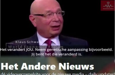 De Prik verandert je DNA zegt Klaus Schwab – Nederlands ondertiteld