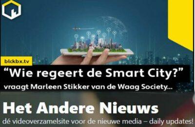 """Wie regeert de Smart City?"""" vraagt Marleen Stikker van de Waag Society…"""