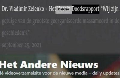 Dr. Vladimir Zelenko – Het Fakzin doodsrapport