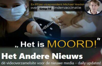 """Voormalig vicepresident van Pfizer Michael Yeadon, over Griep19 -kindervaccinatie: """"Het is moord!"""""""